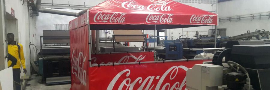 Branded Exhibition Tents