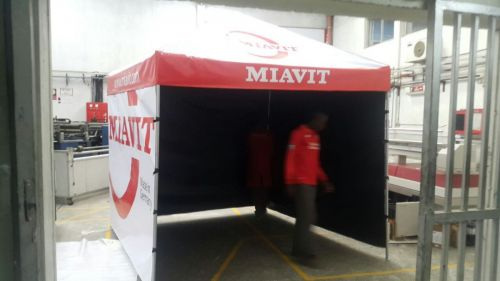 nomad branded exhibition tents